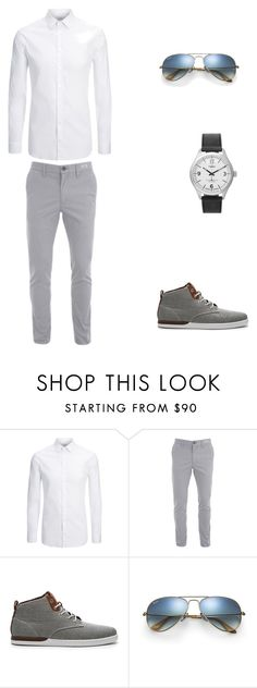 """Untitled #145"" by emina136 ❤ liked on Polyvore featuring Joseph, Creative Recreation, Ray-Ban and Timex"