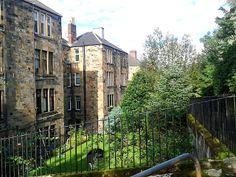 Tenement gardens in High Shawlands Glasgow Glasgow Architecture, Glasgow Scotland, My Images, Paisley, Gardens, Spaces, City, Design, Outdoor Gardens