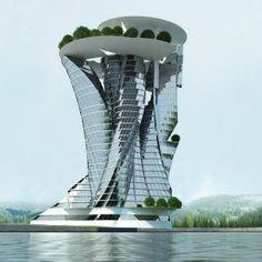 The Most Sensational Futuristic Architecture! – Architecture Admirers #contemporaryarchitecture #futuristicarchitecture
