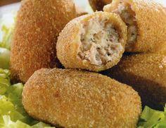 Recetas de cocina: Croquetas de Atún