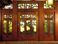 Arts and Crafts Movement  Doors