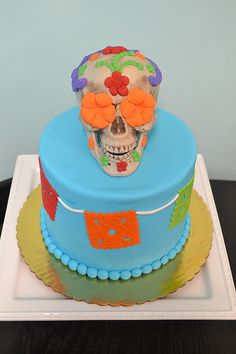 Calavera Cake by Simply Sweet Creations (www.simplysweetonline.com)