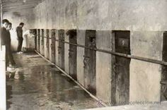 Foto tamaño postal. Bartolina Celda de prisioneros. Prision Carcel. Manila. Filipinas. (Postales - Postales Extranjero - Asia - Filipinas)