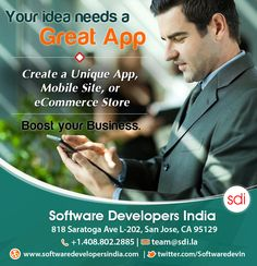 Mobile App Development: #Startups, young #entrepreneurs Do you have an app idea? We build #apps with in 4 weeks and drive sales to your front door! Call 408.802.2885 or email team@sdi.la to Create a Unique App.  #mobile_app_development, #mobile_app_development_company, #mobile_app_builder, #mobile_app_ideas, #mobile_app_developers, #mobile_app_solutions_for_entrepreneurs, #app_development_for_business, #mobile_app_maker