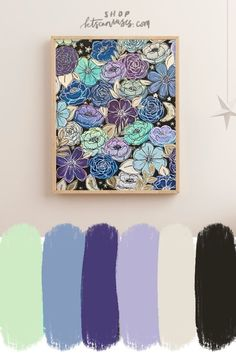 Add some joy to your office or home with this galaxy outlined florals art print! Hang it in your favorite spot to enjoy everyday and for years to come! It brightens and personalizes the room as it brings you joy every time you walk in!