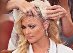 Brides, show me your birdcage veils!!!! « Weddingbee Boards