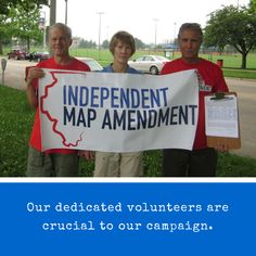 Illinois, help us gather signatures to get the Independent Map Amendment on the November 2016 ballot.