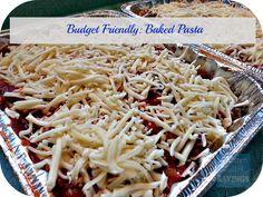Freezer Friendly Recipes: Baked Pasta Recipe
