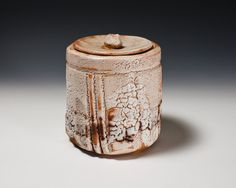 Shino Fresh Water Jar by Suzuki Tomio