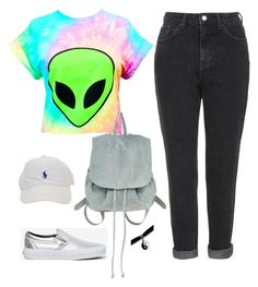 """""""Halsey Inspired #1"""" by halseys-clothes ❤ liked on Polyvore featuring Topshop, Vans, Ecote, halsey, ashleyfrangipane, halseymusic and halseystyle"""