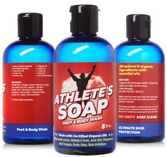 Athletes Soap - no.1 ALL NATURAL Antifungal Soap With 100% GUARANTEE. Helps Wash Away Jock Itch, Athletes Foot, Toenail Fungus, Body Odor, Ringworm Treatment. Tea Tree and Certified Organic Oils! >>> Quickly view this special  product, click the image : essential oils