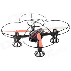 RunQia 2.4GHz 4-CH 6-Axis Outdoor R/C Quadcopter w/ Gyroscope - Black (6 x AA) from 39,= for Euro 22,50