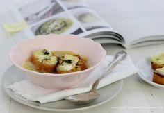 TAPENDA Przepisy Kulinarne na każdy dzień: Zupa selerowa z camembertem i masłem estragonowym