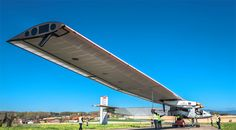 #solar airplane #technology #environment