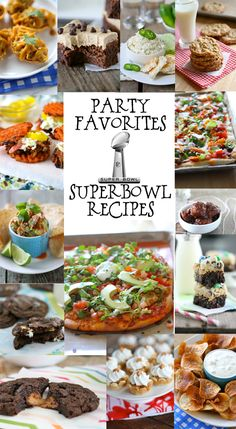 Superbowl Recipes -- These are just in time for the big game this weekend! | laurenslatest.com