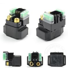 Motorcycle Starter Relay Solenoid ATV For OEM Yamaha YFM 550 700 Grizzly 4x4 #ETWAS