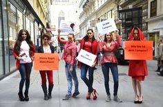 Breaking the bloody taboo in Vienna : ) Meine Regel. Mein Planet. Wie bio ist dein Tampon? Nachhaltige Frauenhygiene im Mainstream! www.erdbeerwoche.com Tabu, Feminism, Dresses, Fashion, Sustainability, Gowns, Moda, La Mode, Dress