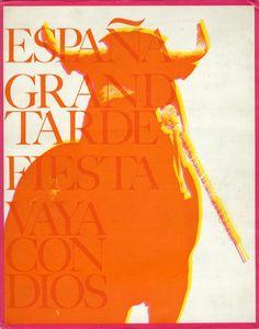 スペイン 偉大なる午後 奈良原一高著 勝井三雄装丁 1969年/求龍堂 プラスティックカバー傷み 二重函(外函傷み) 冊子「約束の旅」付  ¥6,500