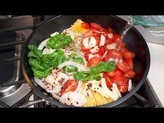 Miska, ktorú nemôžete pokaziť! Všetci budú ohromení! Vynikajúce cestoviny na jednej panvici! - YouTube One Pan Pasta, The Dish, Thai Red Curry, Dishes, Canning, Chicken, Meat, Ethnic Recipes, Paste