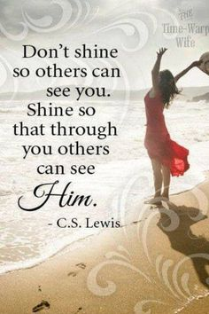 Words of Wisdom ~ C.S.Lewis. How important this is
