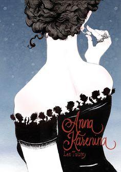 "Lindsay is devouring ""Anna Karenina"" by Leo Tolstoy"