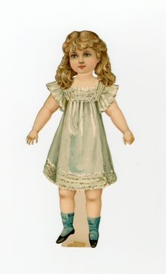 76.3969: Artistic Series III | paper doll | Paper Dolls | Dolls | Online Collections | The Strong