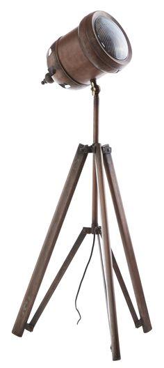Metall Stehlampe N°1 Industriedesign Canett / Theaterscheinwerfer