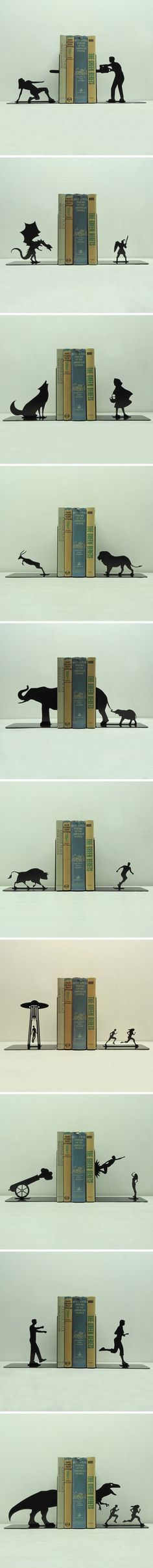Funny - Creative Bookends - www.funny-pictures-blog.com