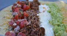 Shredded beef for Burritos, Enchiladas, Tostadas or Tacos – Foodinspirer – recipe inspiration for all