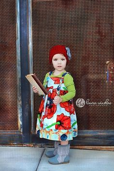 Poppy Knot Dress.. my little girl is totally wearing something like this one day
