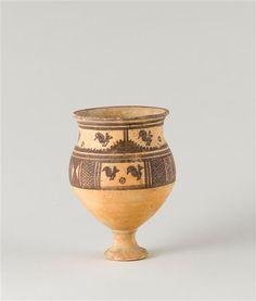 Bird and Sun vase, ca. Iran, Louvre, Susa, Grand Palais, Le Far West, Civilization, Pottery
