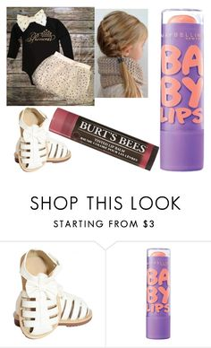 """""""Untitled #1506"""" by kkfeher ❤ liked on Polyvore featuring Maybelline and Burt's Bees"""