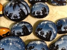 Nativity rocks