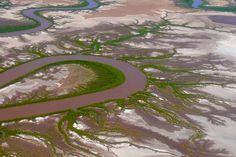 Cambridge Gulf - Five Rivers treffen hier aufeinander & unendlich viele Wasserarme - Wyndham, Kimberley - Western Australia