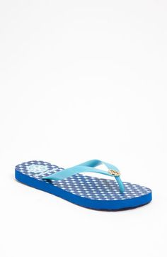 8f948fe165a2 Everybody s Favorite Flip-Flop  Tory Burch Enamel Logo Flip Flop available  at Nordstrom Tory