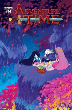""" Adventure Time Issue #54 Variant Cover by Veronica Fish """