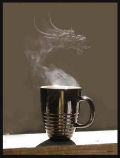 I want a dragon in my coffee cup :(