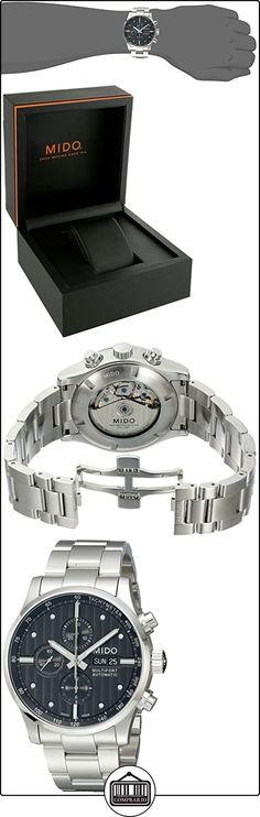 Mido Multifort M0056141106100 - Reloj para hombres, correa de acero inoxidable color plateado  ✿ Relojes para hombre - (Lujo) ✿