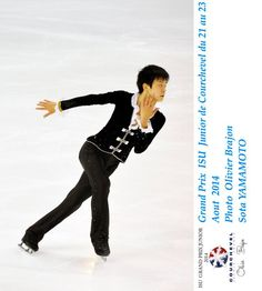 Grand Prix Junior De Patinage 2014 Courchevel SP : Sota Yamamoto   (https://www.facebook.com/gpcourchevel/photos/a.164790737046349.1073741833.131587903699966/164839460374810/?type=3&theater)