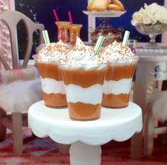 New READY TO SHIP Pumpkin Spice Autumn Flavors by DolliciousDesign, $3.00