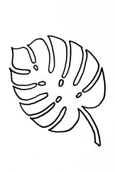 Leaf garland DIY and eggnog passion fruit cocktail recipe DIY .- Blättergirlande DIY und Eierlikör Maracuja Cocktail Rezept DIY An… Leaf garland DIY and eggnog passion fruit cocktail … - Leaf Template Printable, Printable Leaves, Owl Templates, Heart Template, Butterfly Template, Applique Templates, Applique Patterns, Printable Stencils, Leaf Garland