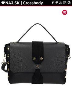 Kabelka kufrík Vera Pelle Čierna KR-026 NOIR-020 Shoulder Bag, Bags, Fashion, Handbags, Moda, Fashion Styles, Shoulder Bags, Fashion Illustrations, Bag