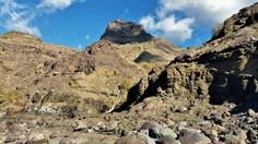 Road GC200, Agaete to La Aldea, Playa del Risco, Gran Canaria, by Mirela Felicia Catalinoiu