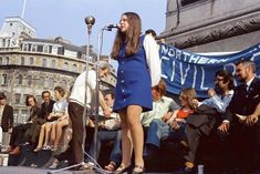 Bernadette Devlin member of Parliament for Mid-Ulster who has announced that she is soon to have a baby addresses a political protest meeting in LondonÂ?s Trafalgar Square by the Northern Ireland Civil Rights Movement July 11 Cork Ireland, Dublin Ireland, Ireland Travel, Ireland Vacation, Northern Ireland Troubles, Belfast Northern Ireland, Images Of Ireland, Irish People, Northern Irish