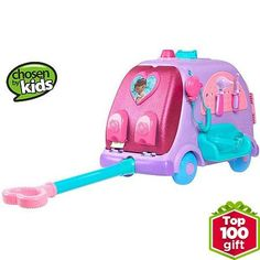 Pink Ride On Toys For Girls Disney Princess Carriage 24v