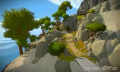 New Screens Of Jonathan Blow's First-Person Puzzler - The Witness ...