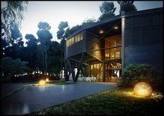 Domaine de la Rive, Biscarosse, Gironde, France / Nadau Lavergne Architects