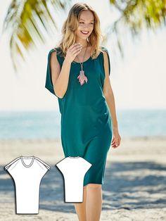 Bat Sleeve Dress 05/2016 #115B http://www.burdastyle.com/pattern_store/patterns/bat-sleeve-dress-052016?utm_source=burdastyle.com&utm_medium=referral&utm_campaign=bs-tta-bl-160418-IslandBreezeCollection115B