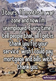 It's sad how republicans have turned their backs on our veterans.