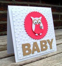 CAS baby cards